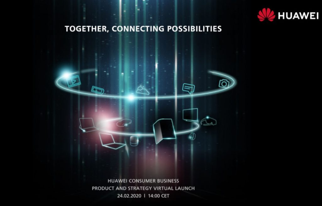 Huawei online launch event to be held on February 24, Mate XS expected