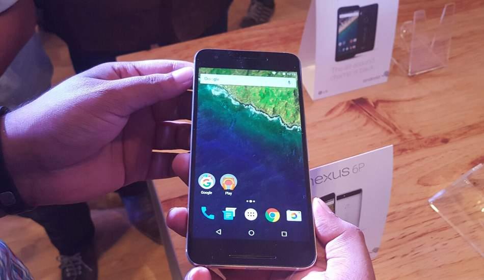 Huawei Nexus 6P in pics