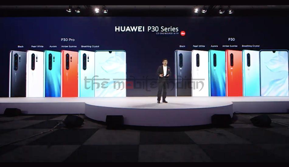Huawei P30, P30 Pro with Kirin 980, 40MP Huawei SuperSpectrum camera announced