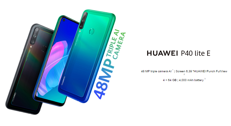 Huawei P40 Lite E launched with Kirin 710F, and triple rear cameras