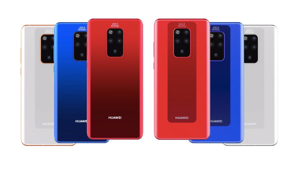 Huawei Mate 30 Pro's camera setup leaked
