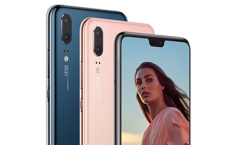 Huawei P20 launched with iPhone X like notch