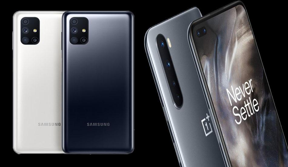 Samsung Galaxy M51 vs OnePlus Nord