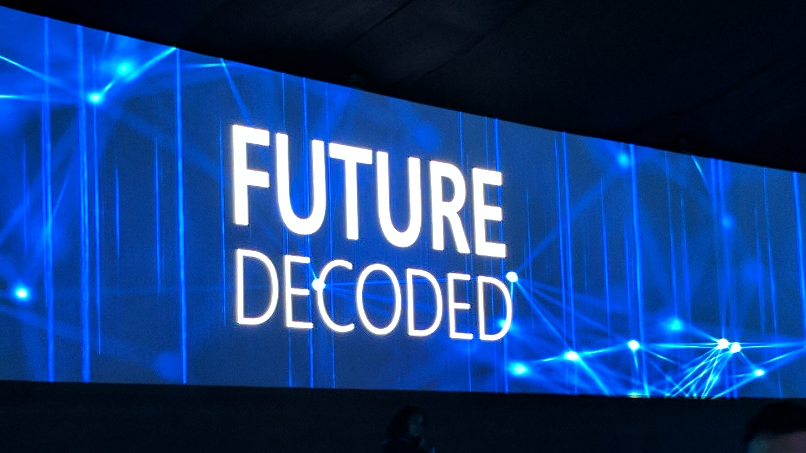 Microsoft's Future decoded event