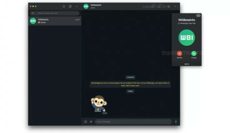WhatsApp is rolling out Voice and Video calls feature to desktop app, WhatsApp Web
