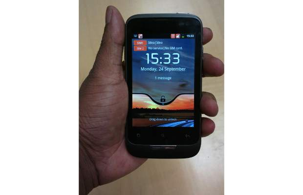 Mobile review: Idea 3G Aurus