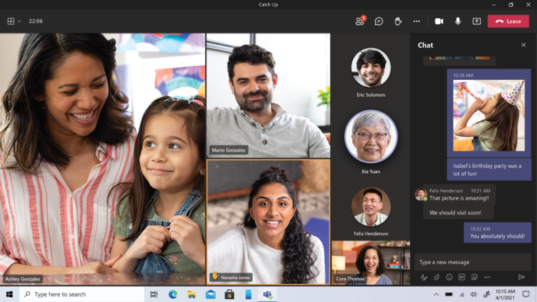 Microsoft Teams Personal Features now available for everyone starting today