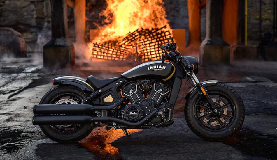 Indian Motorcycle unveils it 2018 Limited Edition Jack Daniel's Scout Bobber