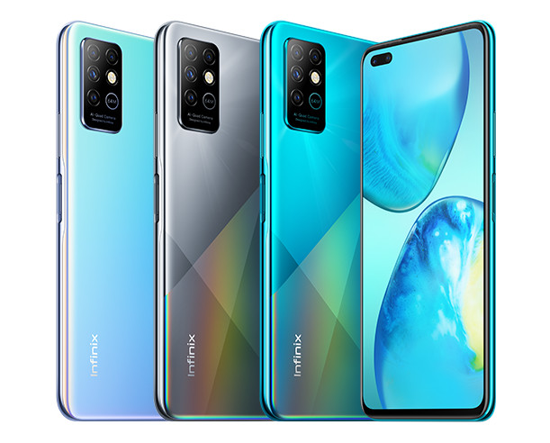 Infinix Note 8, Note 8i announced with quad cameras, MediaTek Helio G80 chipset