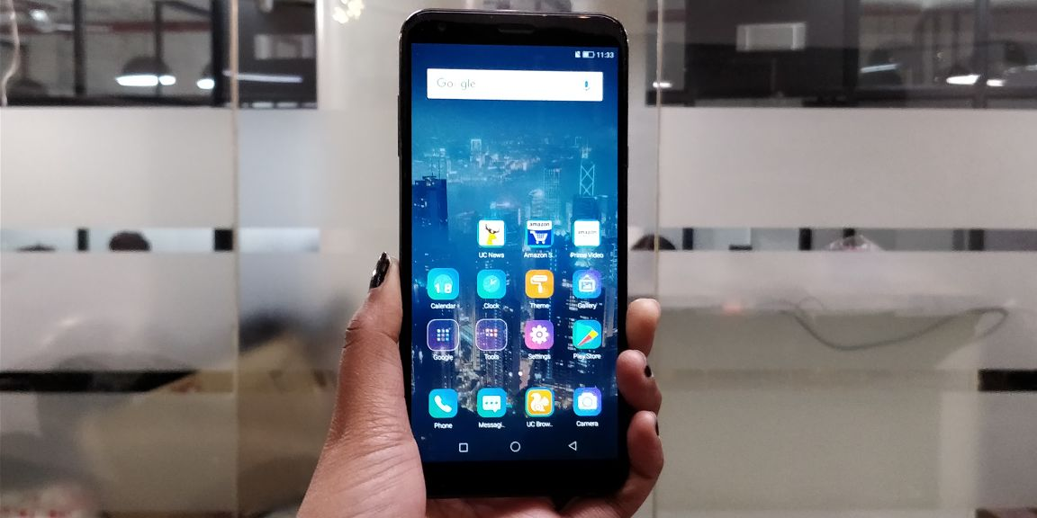 Infocus Vision 3 Review: Is this the Best Budget Smartphone with a bezel-less display?