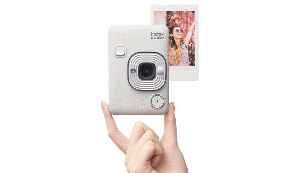 Fujifilm Instax Mini LiPlay instant camera announced