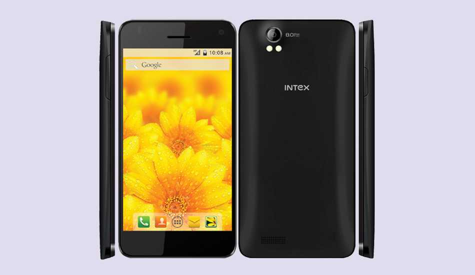 Intex Aqua Style Pro with Android 4.4 KitKat launched for Rs 6,990
