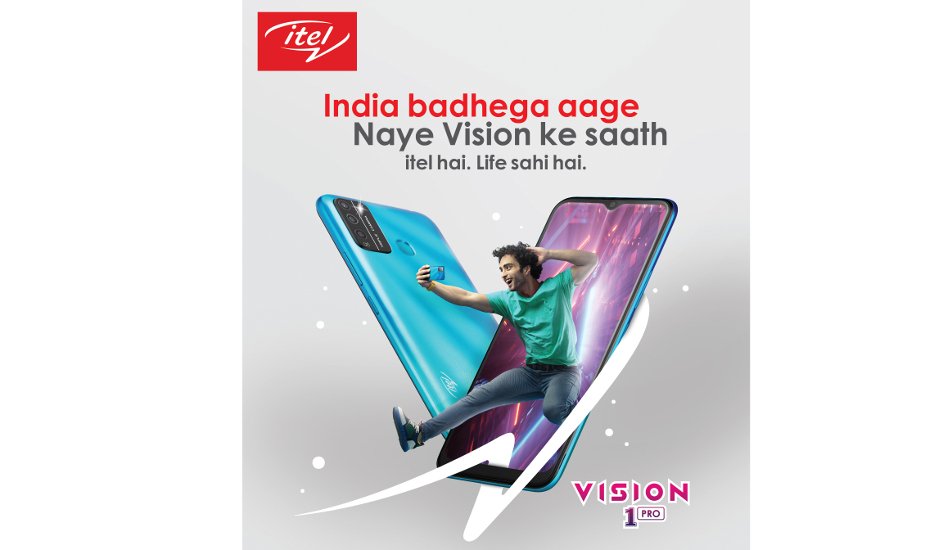Itel Vision 1 Pro with Android 10 (Go Edition), 4000mAh battery launched in India for Rs 6,599