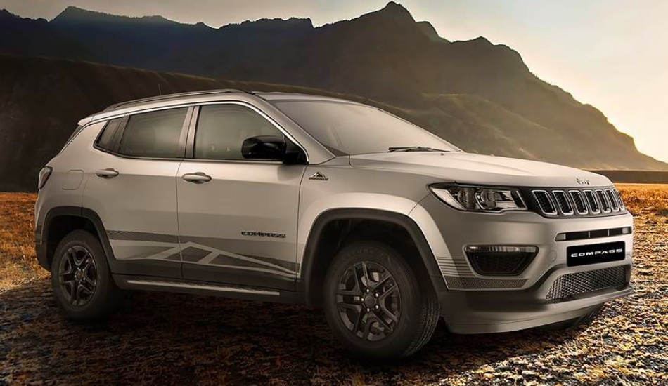 Jeep Compass Bedrock Limited Edition launched in India at Rs 17.53 Lakh