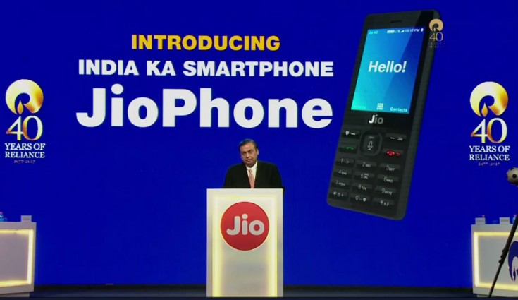 Reliance JioPhone in Pictures
