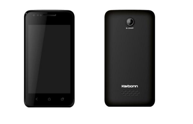Karbonn launches 4 inch Android smartphone for Rs 4,799
