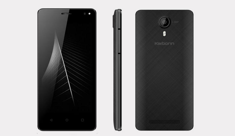 Karbonn Quattro L45 IPS with 4G LTE support spotted online