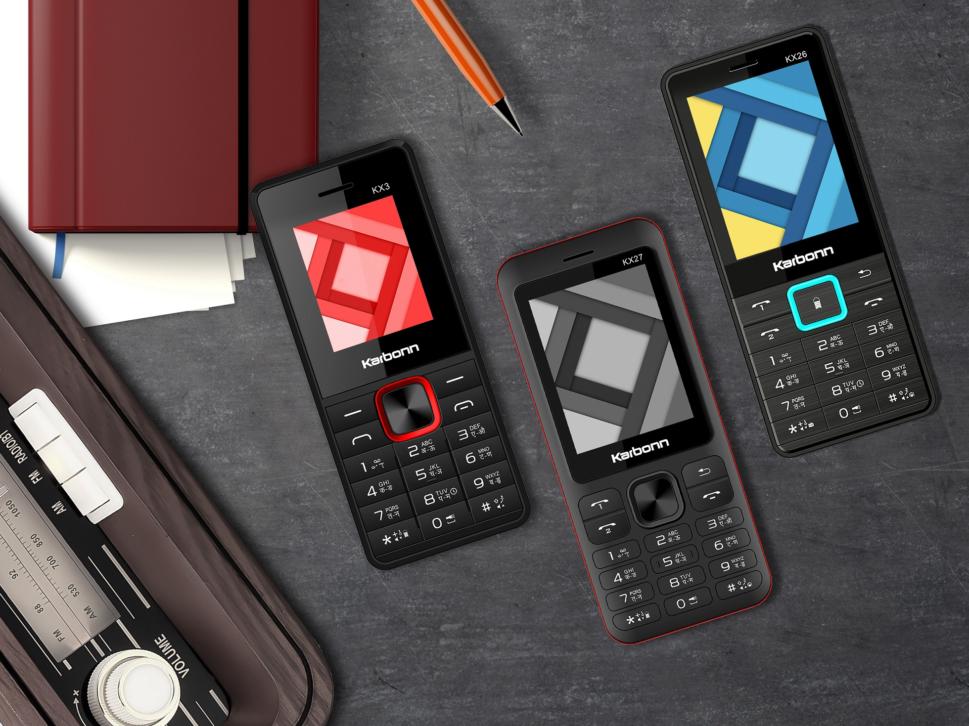 Karbonn Mobiles launches 4 features phones, Price starts at Rs 700