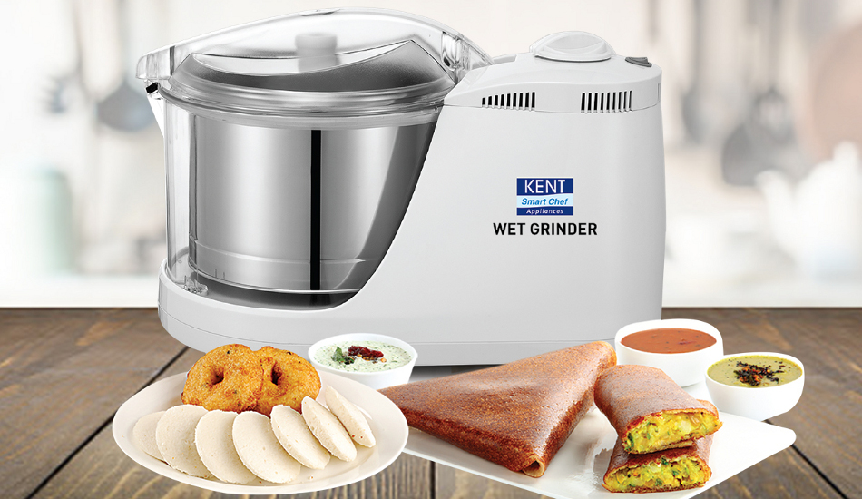 KENT launches unique wet grinders for all kinds of grinding for Rs 7,900