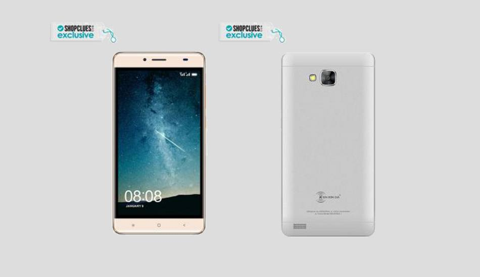 Kenxinda R7 with 5.5 inch HD display, quad core processor launched at Rs 4,299
