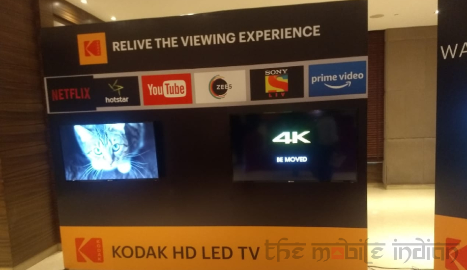 Kodak launches three new XPRO-series LED TVs with 4K resolution, starts at Rs 22,499