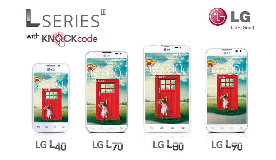 LG L80 now official, may come to India for about Rs 13,000