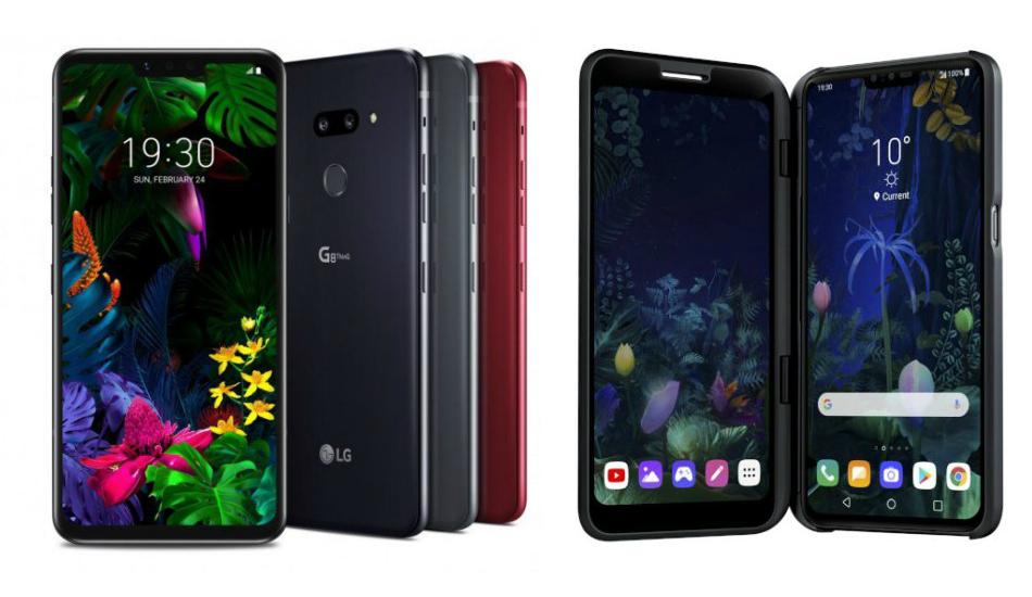 MWC2019: LG V50 ThinQ 5G, G8 ThinQ, G8s ThinQ unveiled with Snapdragon 855, triple cameras