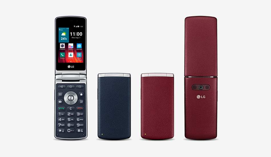 LG Wine Smart announced in good old folder style