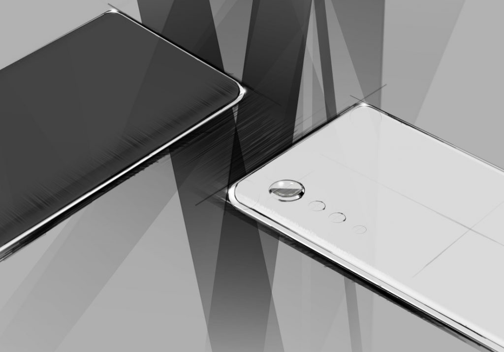 LG upcoming smartphone teased with new design language with raindrop camera [Update: LG VELVET]