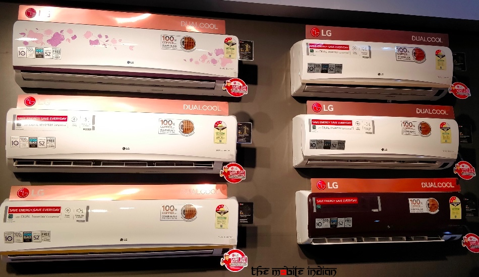 LG launches new range of split air conditioners with dual Inverter technology in India