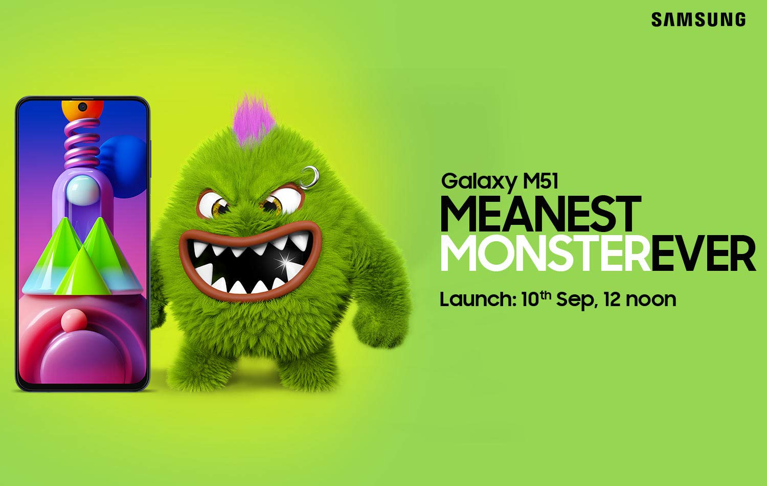 Samsung Galaxy M51 to launch on September 10th in India