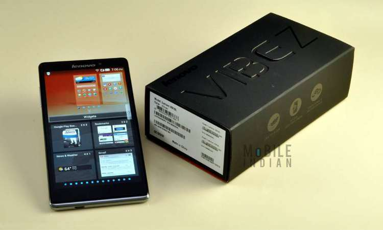 Lenovo Vibe Z Review - A smartphone to flaunt