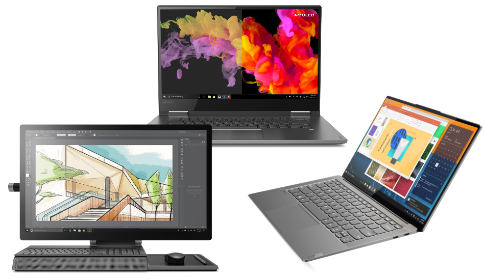 CES 2019: Lenovo refreshes its Yoga series laptops, AiOs, Yoga Mouse