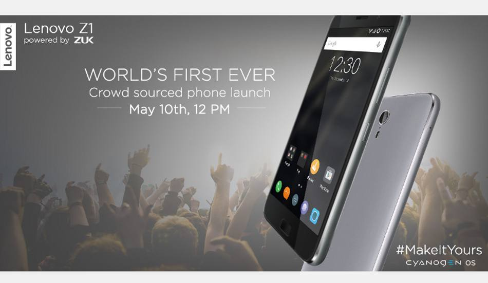 Lenovo Z1 powered by Cyanogen OS launching in India on May 10