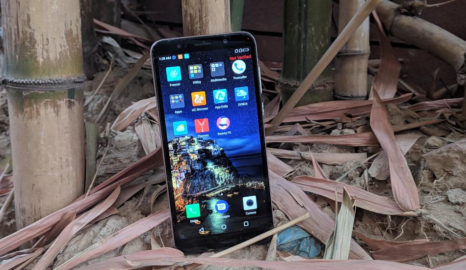 Lenovo A5 in Pictures