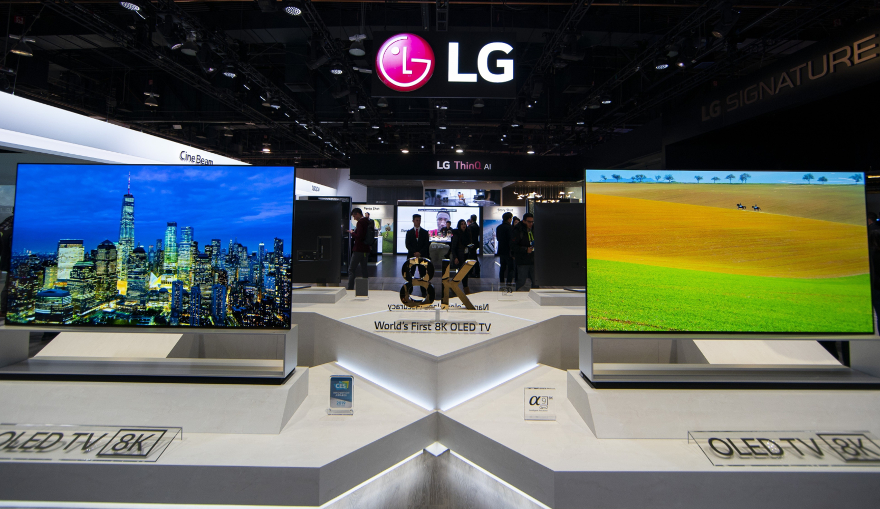 LG 88-inch 8K OLED Z9 TV goes up for pre-orders