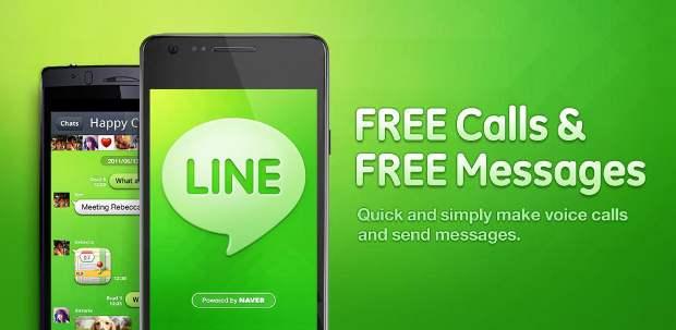 Compare Line messenger vs Whatsapp