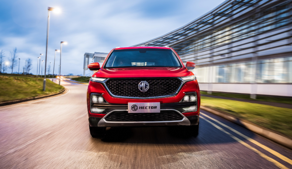 Morris Garages unveils MG Hector Internet Car starting at Rs 12,18,000