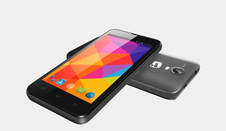Micromax Bolt Q339 quad core smartphone launched at Rs 3,490