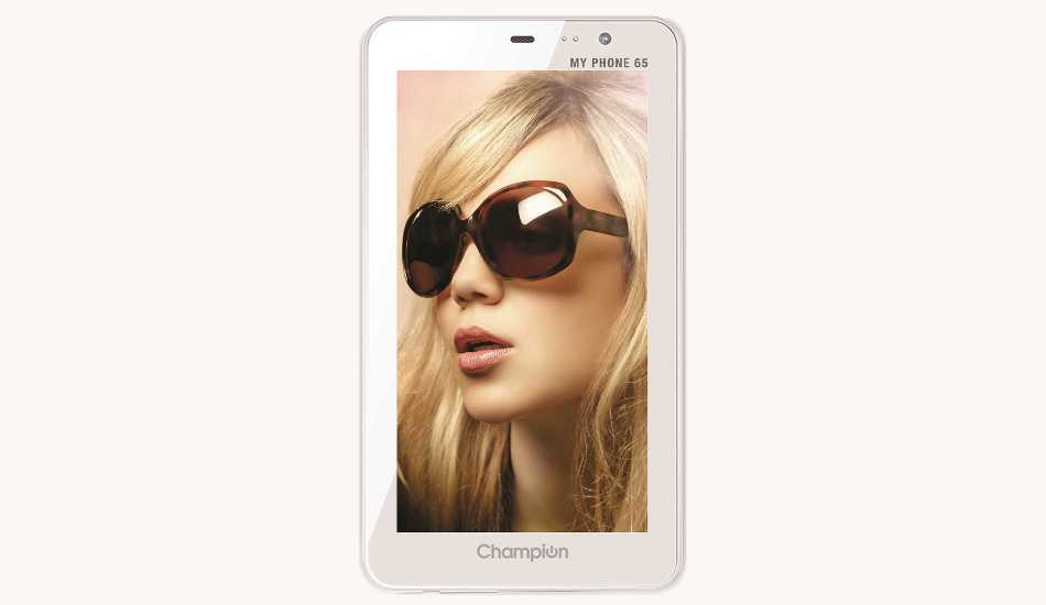 Champion My Phone 65 smartphone with 6.5 screnn, Android JB launched at Rs 4,999