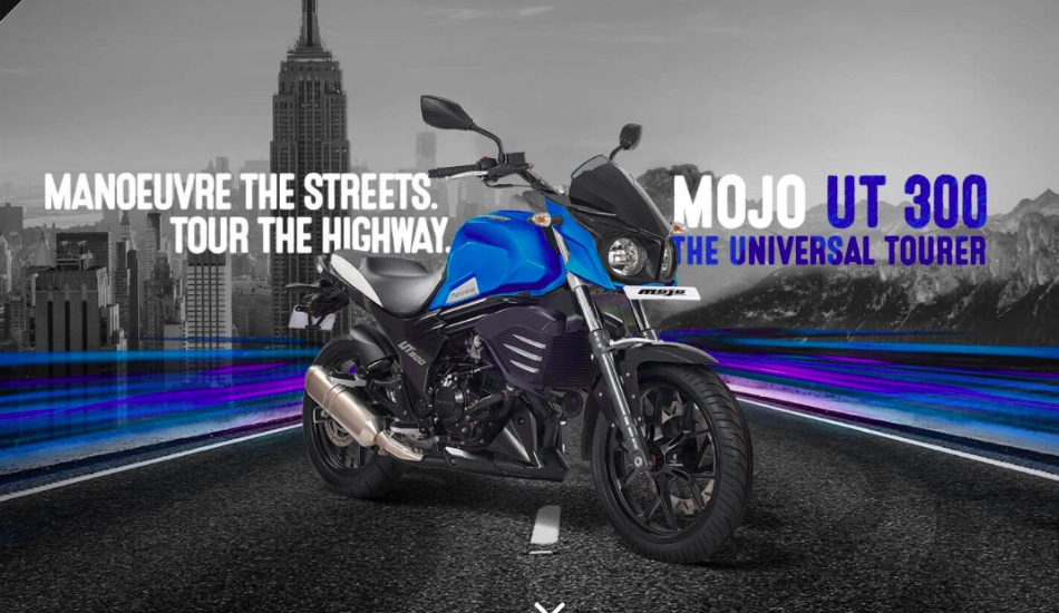 Mahindra Mojo UT 300 in Pictures