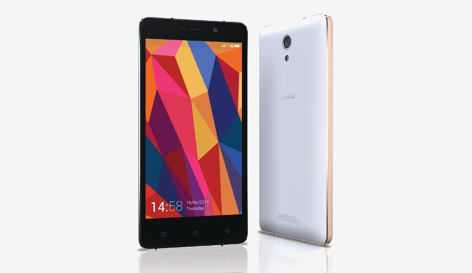 Gionee Marathon M4 with 5000 mAh battery launched for Rs 15,499