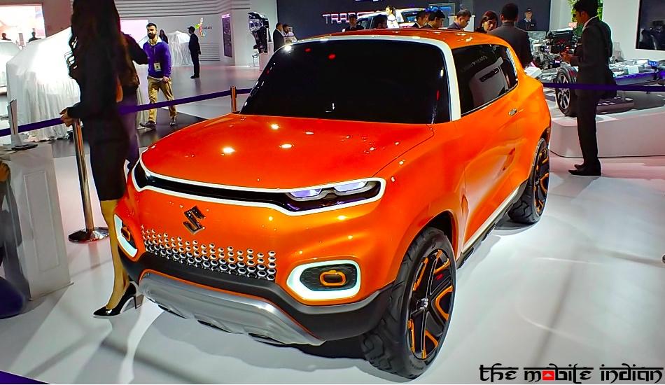 Maruti Suzuki Future S concept at the Auto Expo 2018 in Pictures