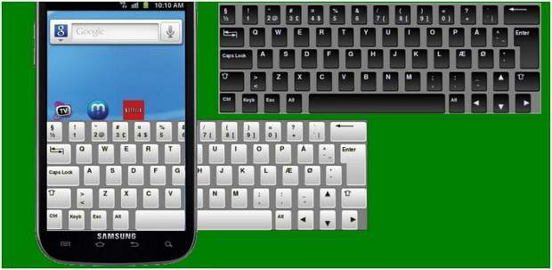 Android keyboard app for big fingers released