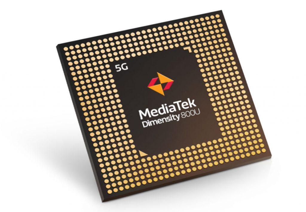 MediaTek Dimensity 800U 5G chipset announced for mid range smartphones