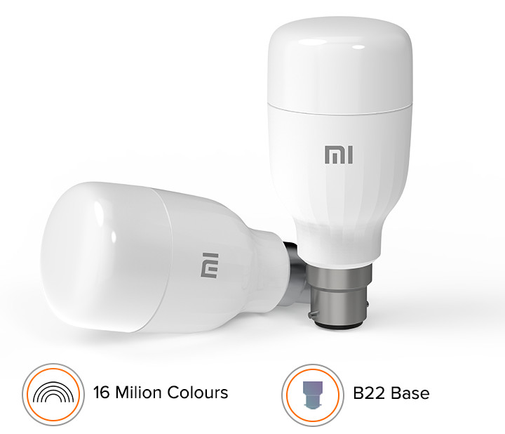 Mi Smart LED Bulb (B22) launched in India for Rs 799