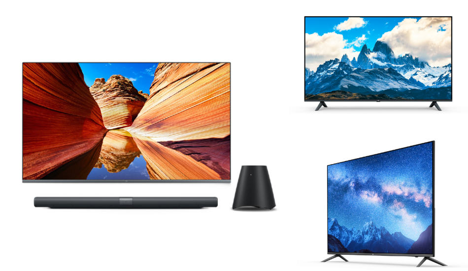 Xiaomi unveils four E-series Mi TVs, Mi Art TV