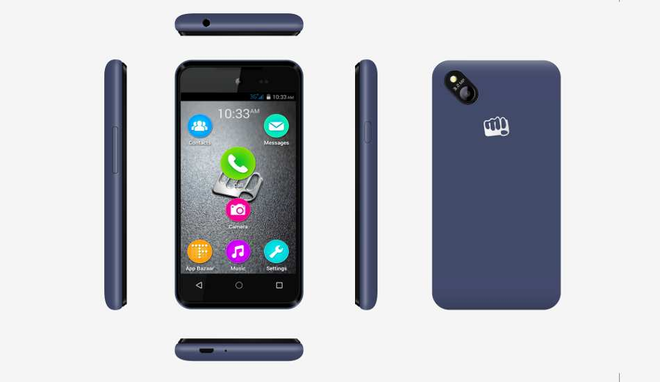 Micromax Bolt D303 launched for Rs 3,499, supports 10 Indian languages