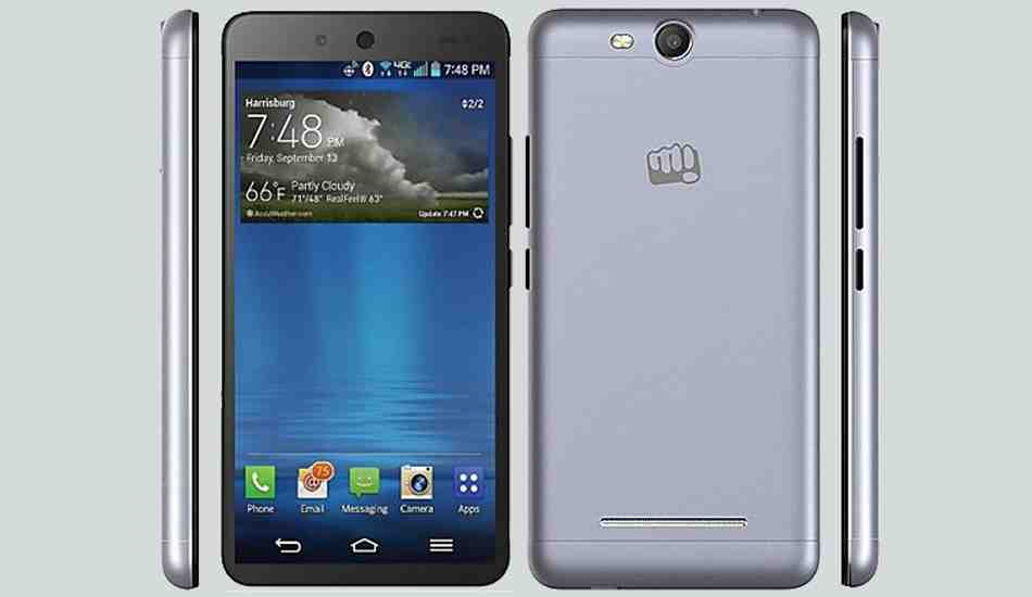 Micromax Canvas Juice 3 with 4000 mAh battery now available at Rs 8,999