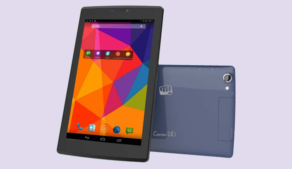 Micromax Canvas Tab P480 launched at Rs 6,999